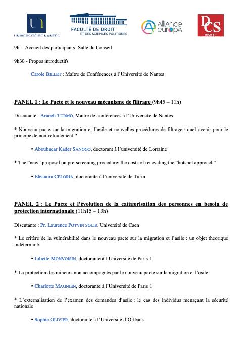 Seminaire ARRECO doctorants